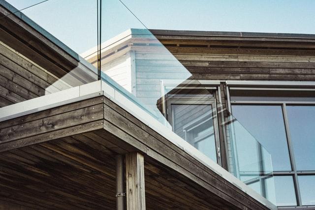 railing of a balcony