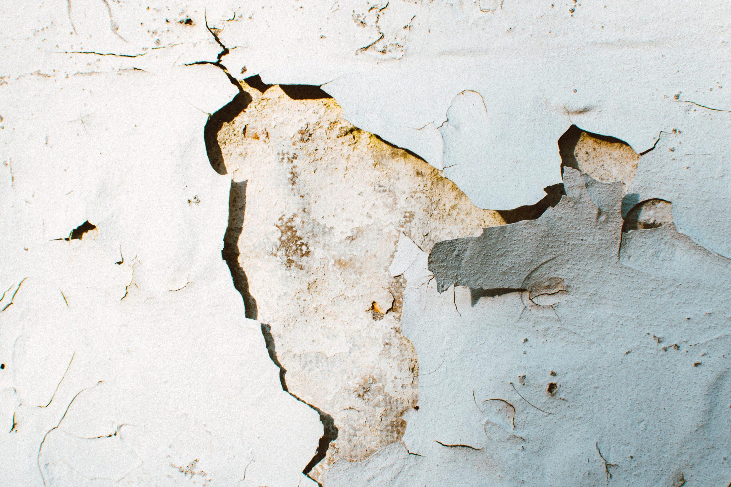 wall crack parging